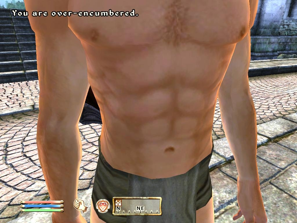 Exemple sur Better Male Body Textures
