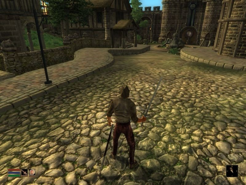 Exemple de Remake of the Classic Morrowind HUD