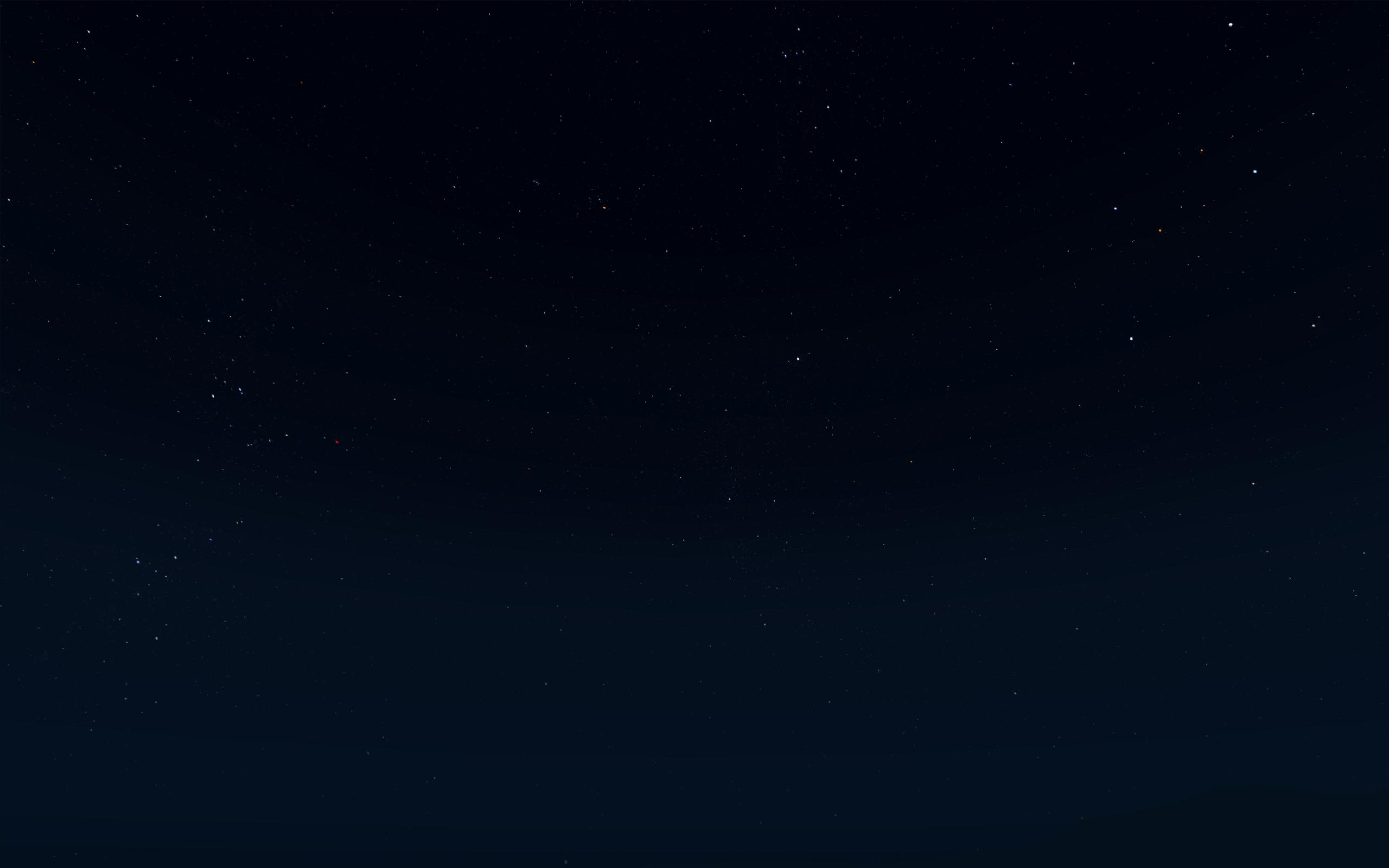 Exemple sur Gloomfrost's Real Night Sky